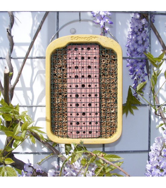 Ruche pour insectes solitaires et pollinisateurs