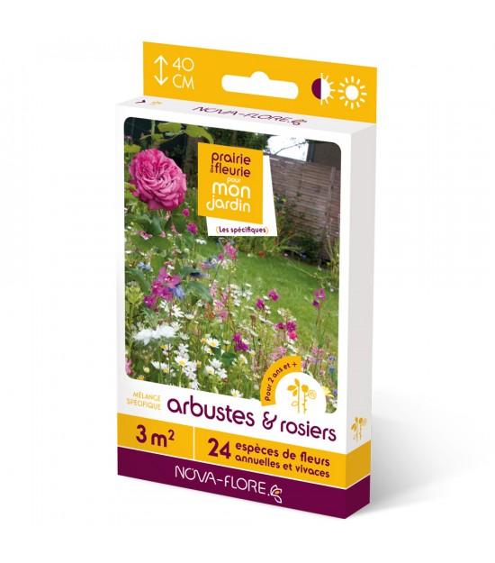 """Prairie fleurie vivace pour """"Arbustres et Rosiers"""""""