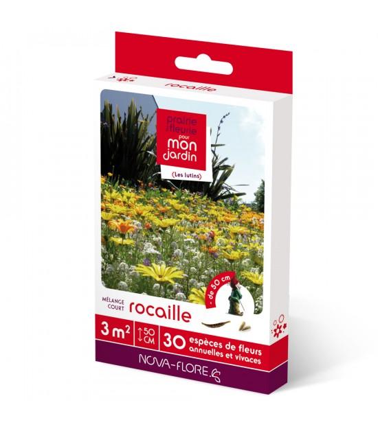 """Prairie fleurie courte """"Rocaille"""""""
