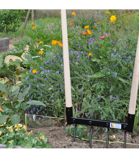 fourche b cher cologique ducoterre mod le 3 dents outils du jardin. Black Bedroom Furniture Sets. Home Design Ideas