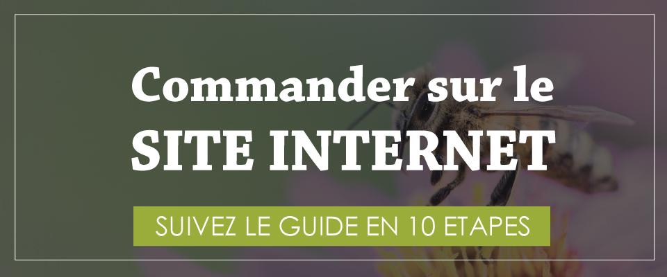 Comment Commander sur notre site internet